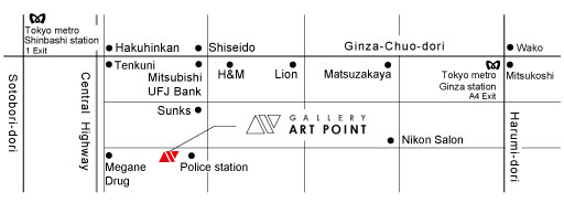 GALLERY ART POINT - Map