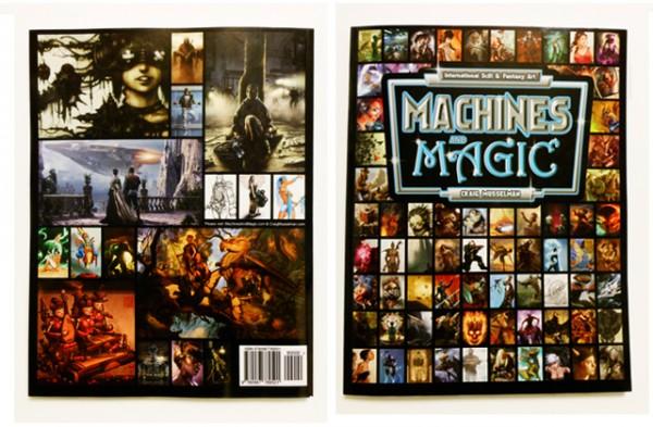 Machines and Magic – Vol.1 - Cover