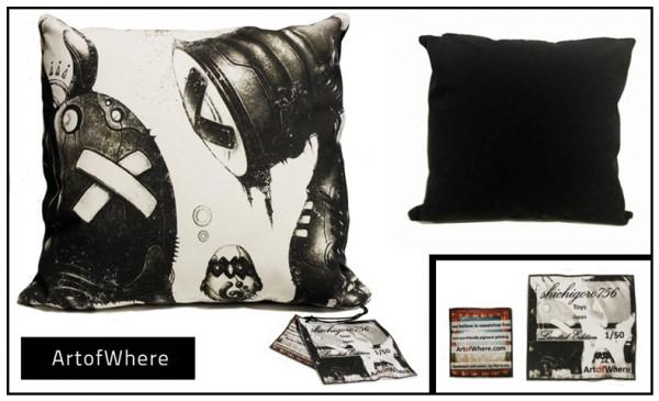 ArtofWhere x shichigoro – Pillow Covers
