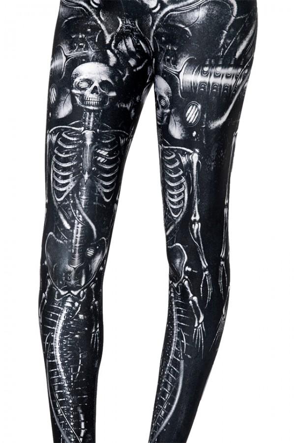 BlackMilk x shichigoro – Mechanical Mermaid Leggings 3