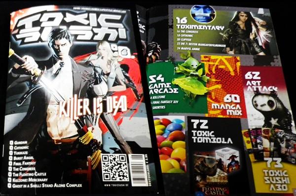 TOXIC SUSHI Ausgabe 6 – Cover