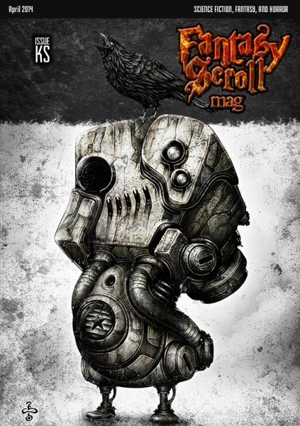 Fantasy Scroll Magazine -Kickstarter Teaser- Cover