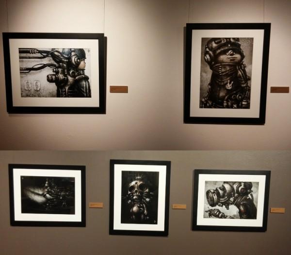 STEAMPUNK @ the Sangre - Exhibition Photos