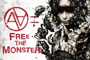 FREE THE MONSTOR – Cover Art