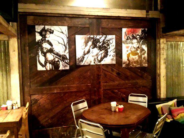 shichigoro-shingo art exhibition at GrassRootsYokohama - 02
