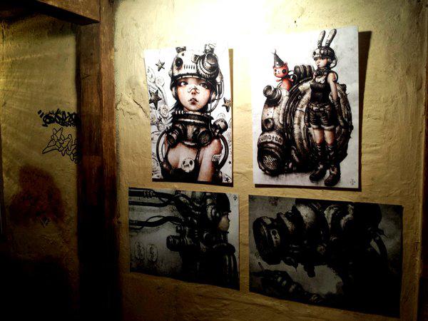 shichigoro-shingo art exhibition at GrassRootsYokohama - 03