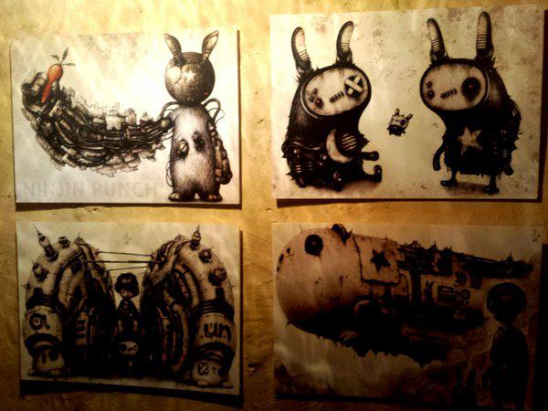 shichigoro-shingo art exhibition at GrassRootsYokohama - 04