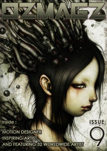 DZ Magz issue #9 - 表紙