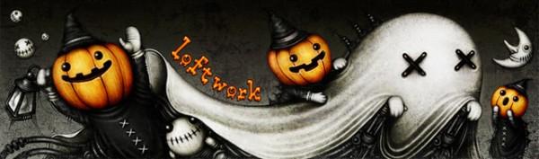 loftworkコーポレートサイト – メインビジュアル - Halloween