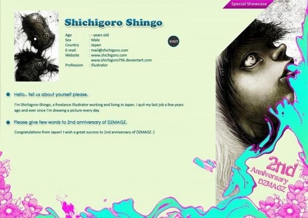 DZ Magz issue #12 -shichigoro-shingo 1