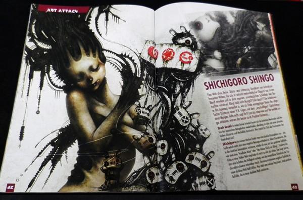 TOXIC SUSHI Ausgabe 6 – インタビュー 1