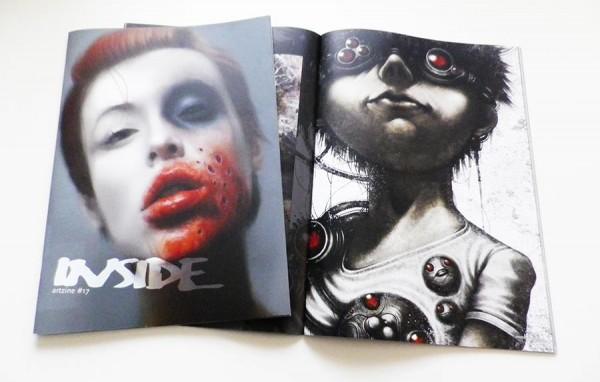 INSIDE artzine #17 - shichigoro-shingo