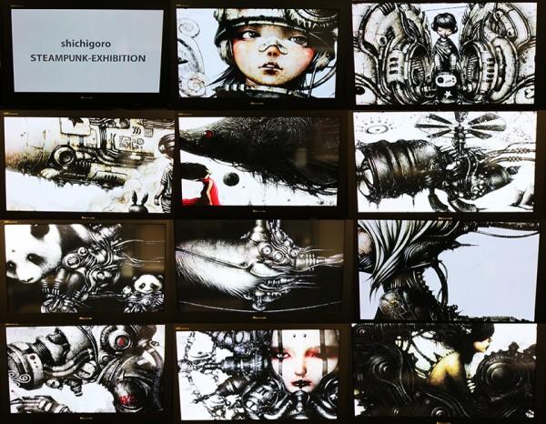 日本蒸奇博覧会 – スチームパンクコレクション in 大阪 2014 - shichigoro-shingo 2