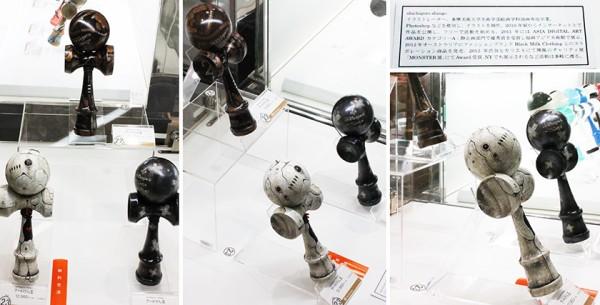 けん玉アート展 - shichigoro-shingo - 展示風景