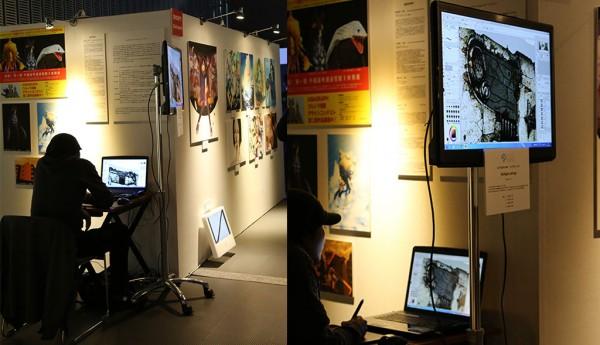 ASIAGRAPH 2014 in Tokyo – ライブドローイング - shichigoro-shingo 2