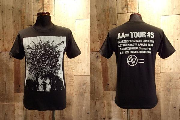 AA= TOUR #5 Tシャツ ブラック