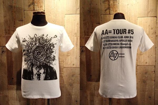 AA= TOUR #5 Tシャツ ホワイト