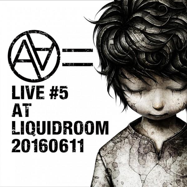 AA= LIVE #5 配信アルバム – ジャケットイラスト
