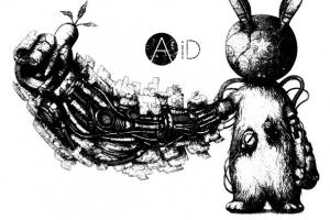 AA= AiD 西日本豪雨チャリティーTシャツ
